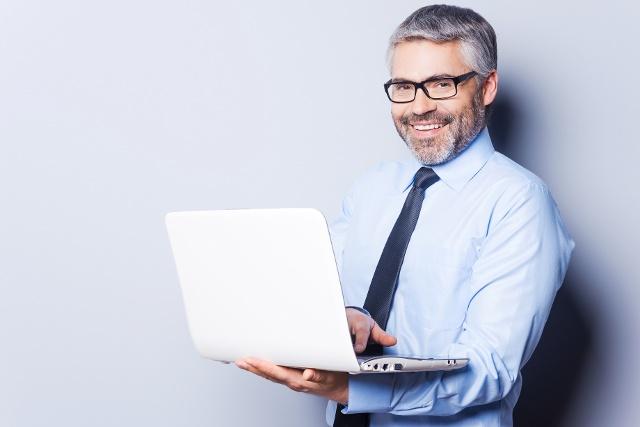 Homem No Laptop Inbound Commerce