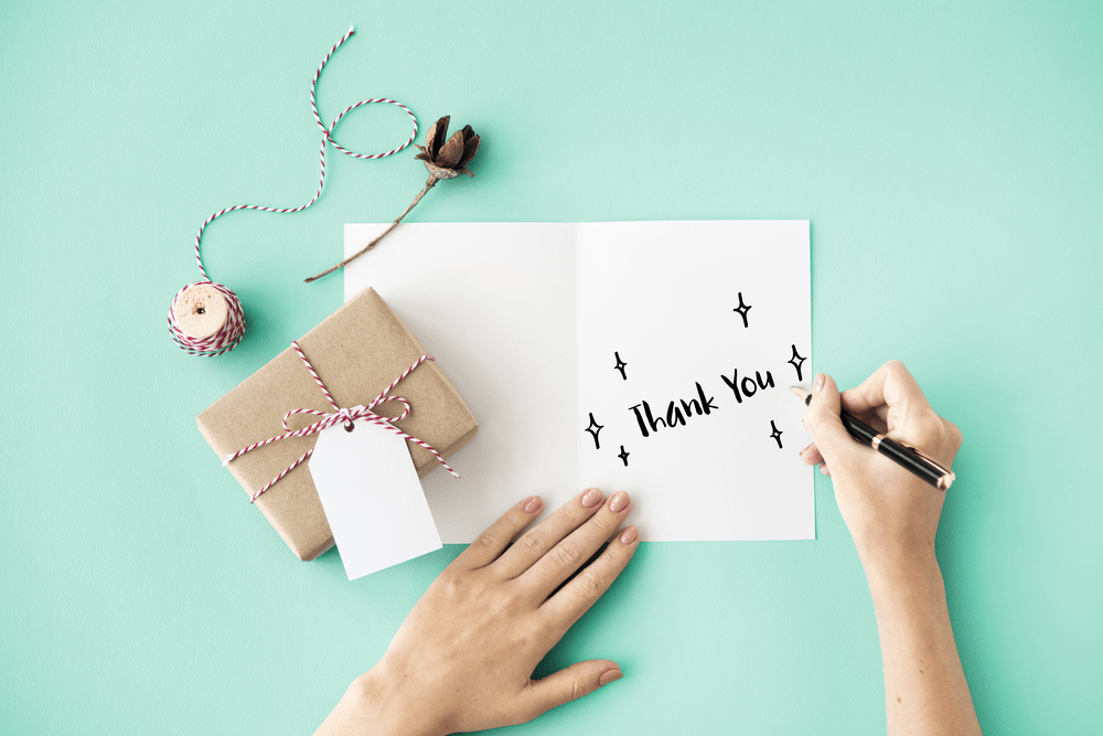 Dia do Consumidor no e-commerce - carta de agradecimento