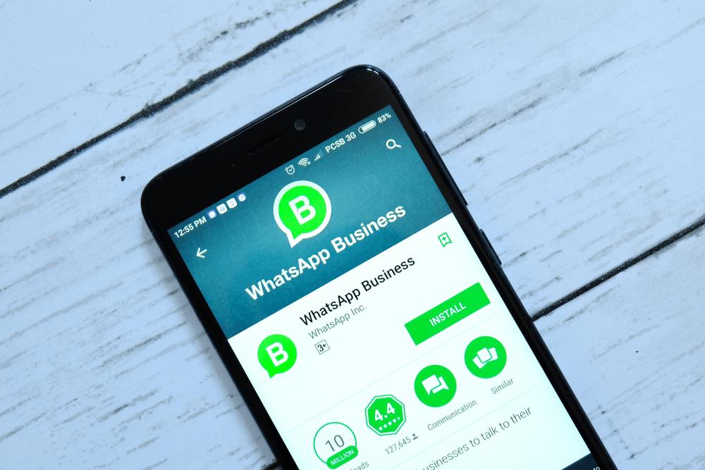 E-commerce em 2018 - whatsapp business