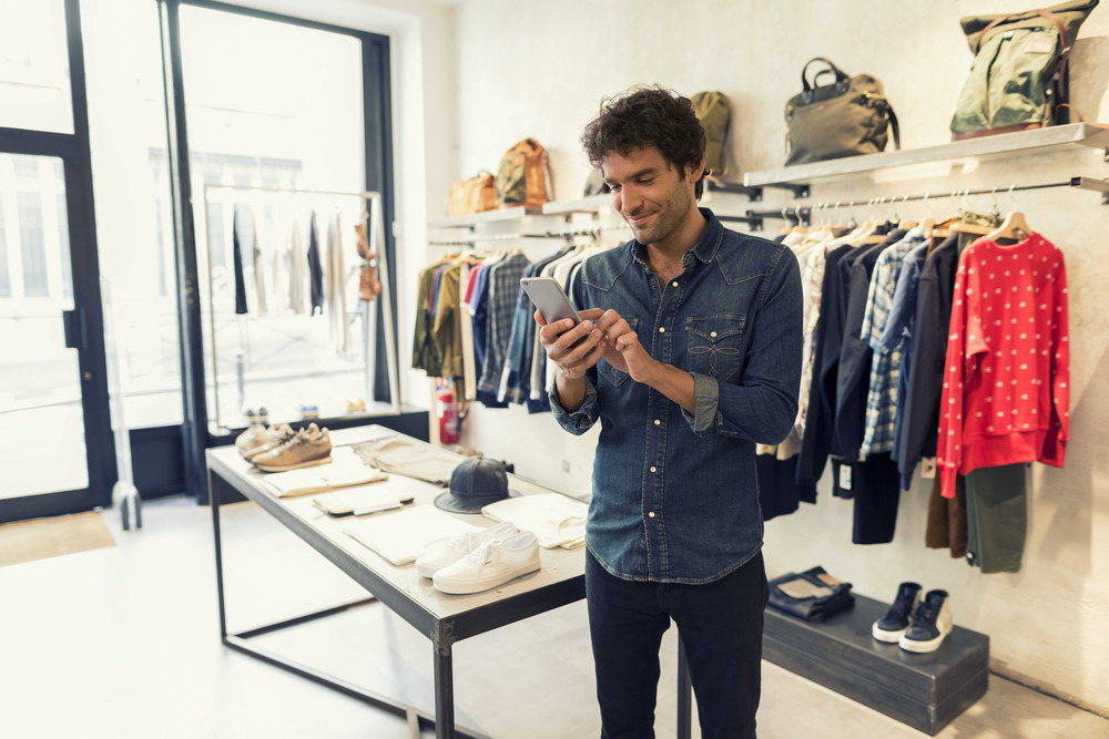 o que é mobile commerce - moda